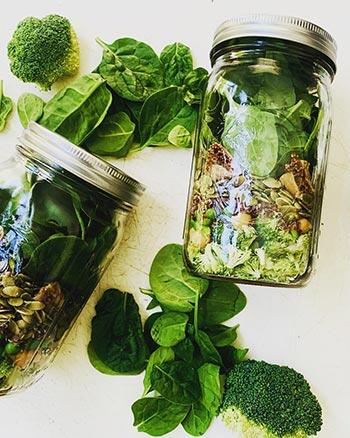 Juicery Green Bay WI Salads in a Jar